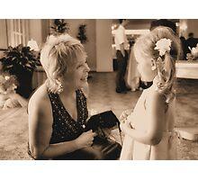 Girl Talk Photographic Print