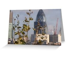 Gherkin Greeting Card
