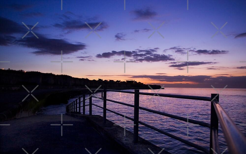 Last Light at Grenham Bay by Geoff Carpenter
