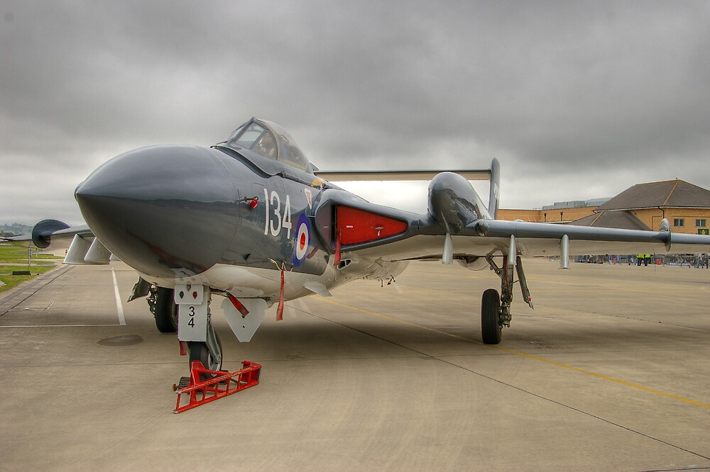 sea vixen HDR by mark connell