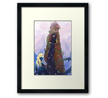 Once Upon A Tangled Framed Print