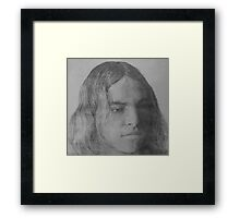 Portrait of the Artist as a Young Man Framed Print