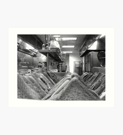 From A Sandwich Perspective Art Print