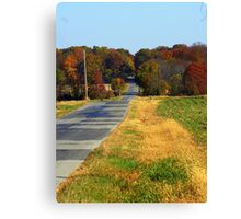 The Long Road home.... Canvas Print