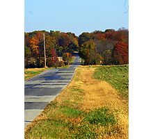 The Long Road home.... Photographic Print
