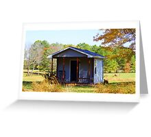 Appalachian Retirement Home Greeting Card