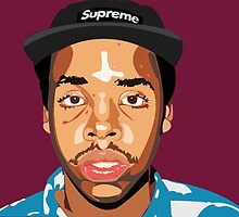 Earl Sweatshirt animation by Brianna Sickles