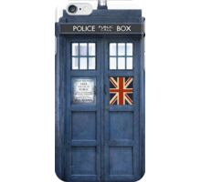 Police Box Union Jack iPhone Case/Skin