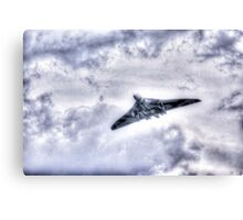vulcan  xh558 at dunsfold 2014 Canvas Print