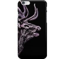 Portrait Of A Deer Fine Art Print iPhone Case/Skin