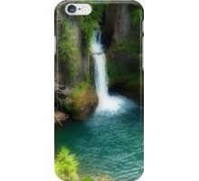 Waterfall In The Grotto iPhone Case/Skin