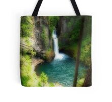 Waterfall In The Grotto Tote Bag