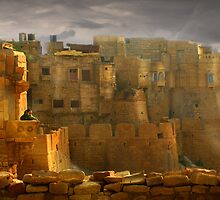 Lone Woman of Jaisalmer by Paul Vanzella