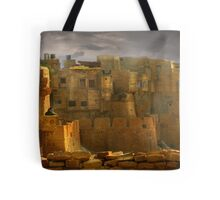 Lone Woman of Jaisalmer Tote Bag