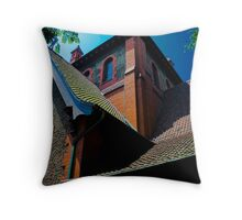 Cathedral in Biltmore Village Throw Pillow