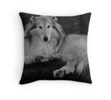 Pampered Throw Pillow