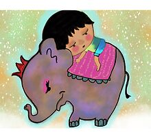 The Elephant Princess and the Lost Boy by Beatrice  Ajayi