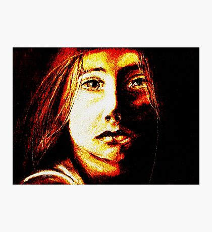 Child of Fire Photographic Print