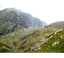 Across the Snowdon Valley Photographic Print