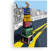 City Blocks Metal Print
