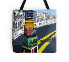 City Blocks Tote Bag