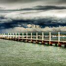 Stormy Pool 2 by Mark van den Hoek