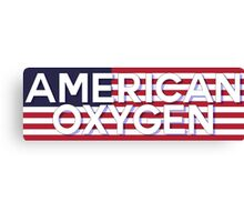 AMERICAN OXYGEN [Color] Canvas Print