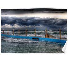 Ocean Pool Storms Poster