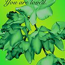 YOU ARE LOVED (CARD 2037) by Thomas Barker-Detwiler