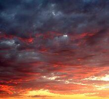 Cloudy Rainbow by starlitewonder
