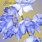 YOU ARE LOVED (CARD 2039) by Thomas Barker-Detwiler