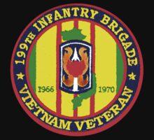 199th Infantry - Vietnam Veteran T-Shirt