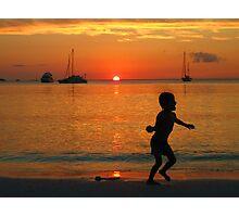 Little Kanack Boy Photographic Print
