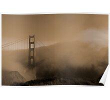 A Golden Fog Poster