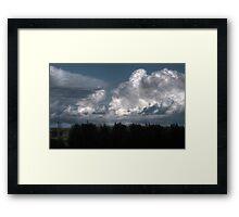 Breathtaking Cloudscape Framed Print