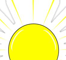 UNiVErSAl GeNiUS - white text Sticker