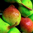 Pears at the Farmer's Market by jojocraig