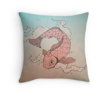 鯉 Throw Pillow