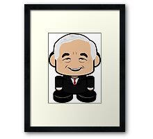 Ron Paul Politico'bot Toy Robot 1.0 Framed Print