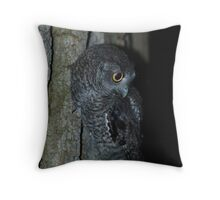 081309-9  THE RETURN OF THE FLYING FUZZBALLS Throw Pillow