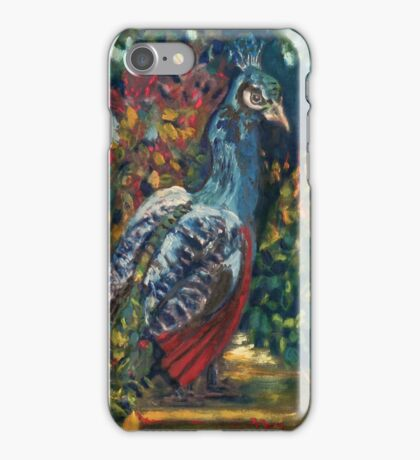 The Peacock Garden iPhone Case/Skin