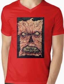 Necronomicon ex mortis Mens V-Neck T-Shirt