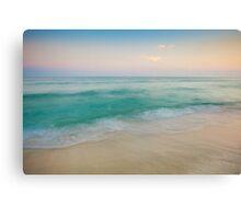 Sunset Tidal Canvas Print