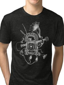 The Music Machine For Dark Shirts Tri-blend T-Shirt