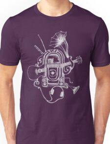 The Music Machine For Dark Shirts Unisex T-Shirt