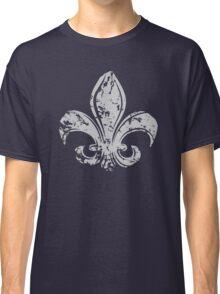 Grunge Fleur De Lis Classic T-Shirt