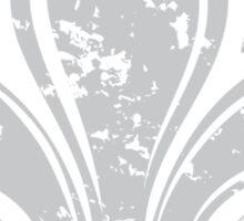 Grunge Fleur De Lis Sticker