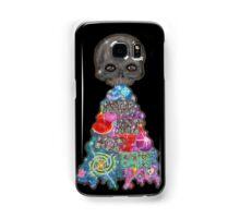 Make Art Not Barf Skull Rainbow Galaxy Illustration Samsung Galaxy Case/Skin