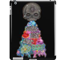 Make Art Not Barf Skull Rainbow Galaxy Illustration iPad Case/Skin