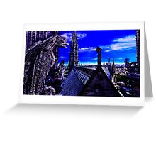 Notre Dame Cathedral Paris Fine Art Print Greeting Card